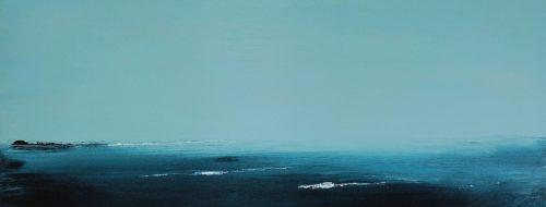 Fog on the Water - Acrylic on Canvas