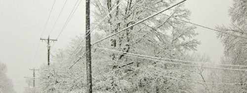 A Snowy Day in Nashville - Photography