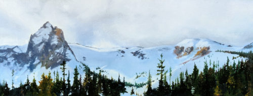 Mammoth Crest - Oil on Canvas