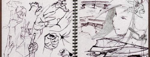 Studies - Pencil and Ink